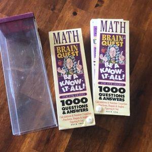 Other - Brain Quest Math 4-6th grades